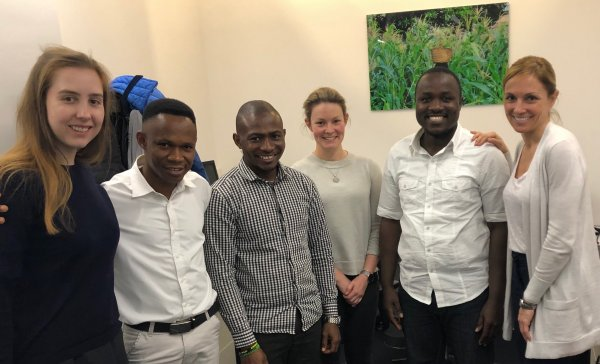 IDDO's first group of trainee data managers from Liberia and Sierra Leone in 2018